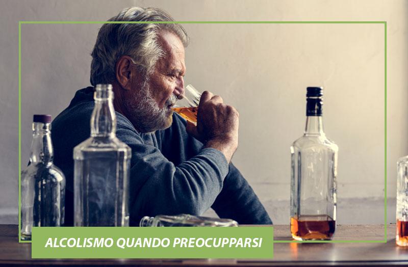 Alcolismo quando preocupparsi